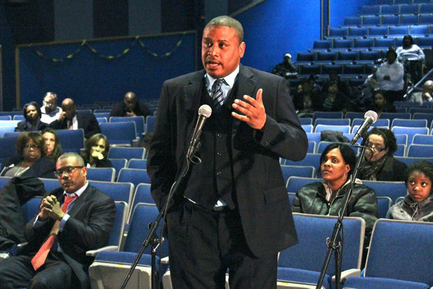 Manierre Elementary Principal Derrick Orr calls the school a