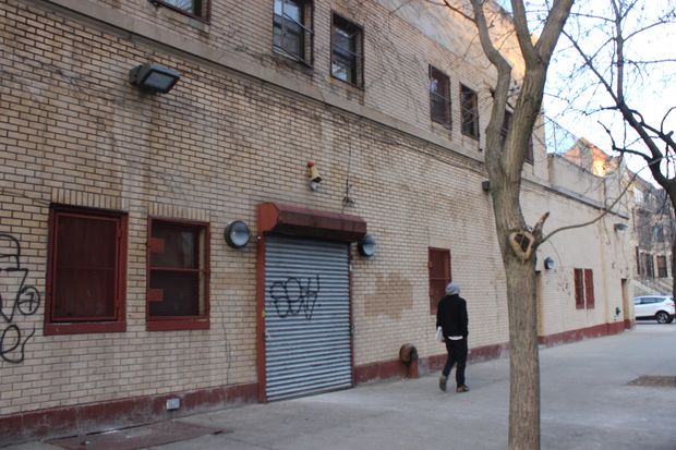 This building on Bergen Street between New York and Brooklyn avenues in Crown Heights will become a shelter for 106 homeless men next month, the city said.