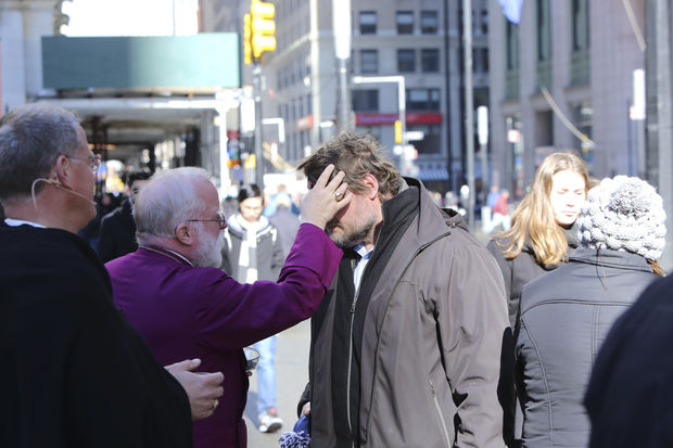 You might be able to get ashes for Ash Wednesday during your commute into work.