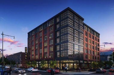 A new hotel planned for 1401 E. 53rd St. will start construction in late March.