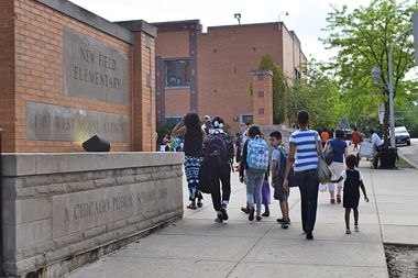 KEYS Grace Academy Charter School of Michigan said it's looking at Rogers Park as a potential new home among the neighborhood's seven current elementary schools.