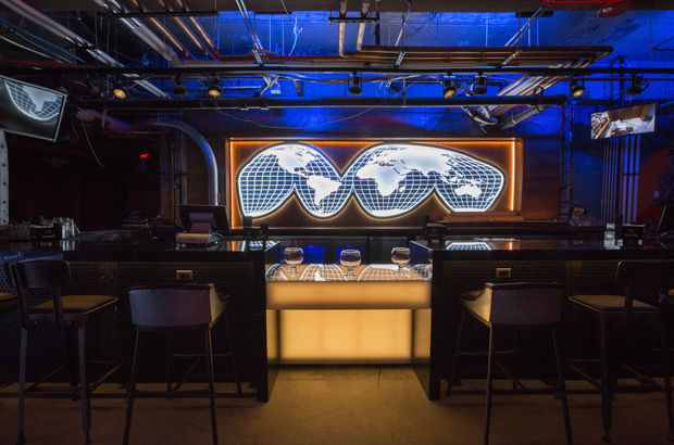 Pictures of Safehouse, a new spy-themed bar opening Wednesday at 60 E. Ontario St.