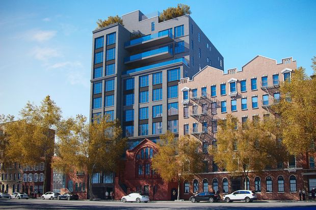 """A neighborhood coalition is suing the city in an effort to stop a """"monstrous,"""" 11-story building from rising on West 16th Street."""