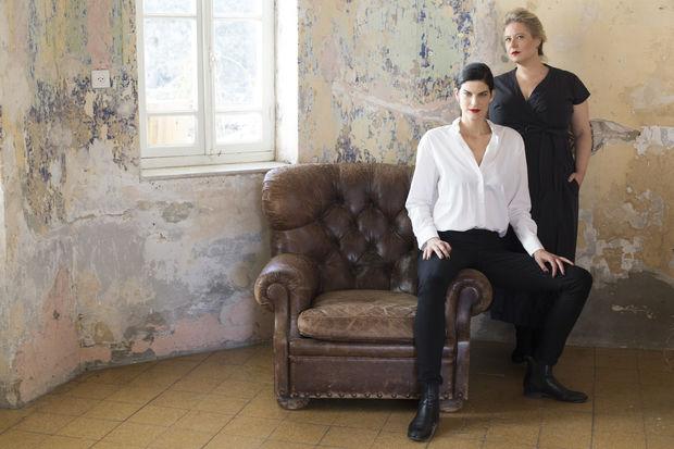 Splacer's Adi Biran (right) and Lihi Gerstner.