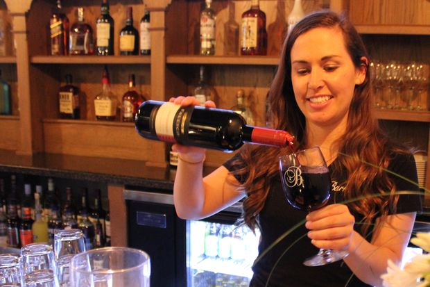 "Barraco's Cafe at 2105 W. 95th St. received a liquor license Wednesday. A soft opening of the new restaurant was held to celebrate the change. The newest Barraco's is on a stretch of 95th Street in Beverly that has been ""dry"" since Prohibition."