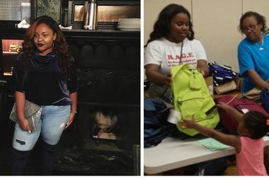 Spelman College freshman Samaiya Butler, from Englewood,  is raising money to travel to Africa this summer.
