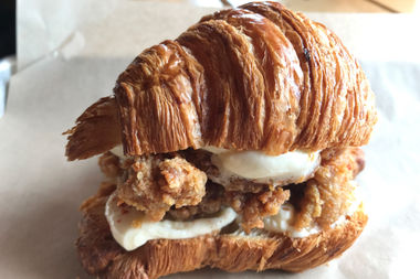 Honey Butter Fried Chicken and Floriole have teamed up to create the croissantwich.