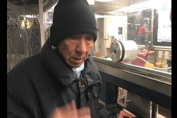 The victim snapped a photo of the man who grabbed her in the station, police said.