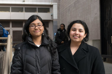 Sumaita Hasan and Mehrose Ahmad, the top editors of Townsend Harris High School's paper, are fighting back against claims they peddle