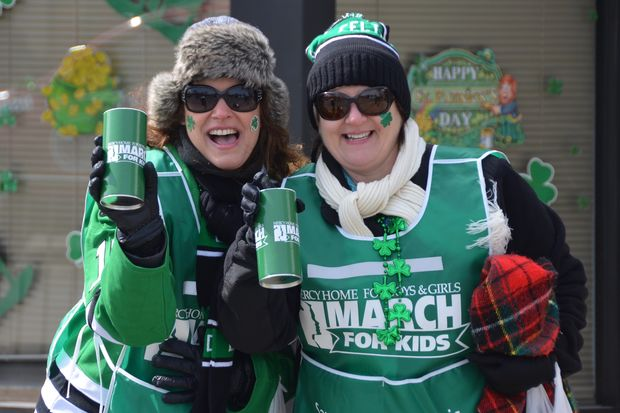 Volunteers for the Mercy Home for Boys and Girls will be seeking donations at St. Patrick's Day parades throughout the city this month.