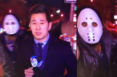 Jason Mask-Wearing Rapper Turns Himself in After Attack on