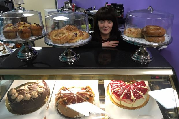 Alexandra Rodionova is the owner of recently opened Poesie Café at 102-10 Metropolitan Ave.