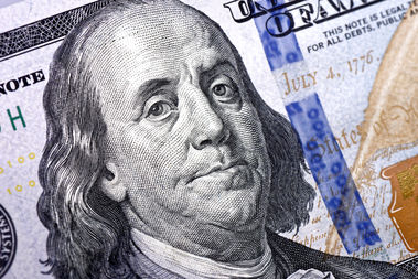 A $100 bill is seen in this file photo.