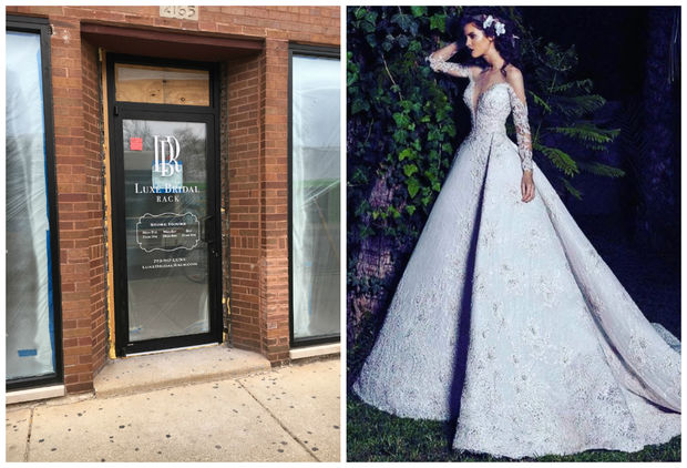 Luxe Bridal Shop, 2167 N. Milwaukee Ave., is opening this week in Logan Square. The shop will sell discounted overstock and sample gowns from designers like Saiid Kobeisy (pictured gown).