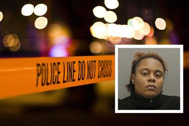 Yasmine Elder, 24, is charged with first-degree murder.