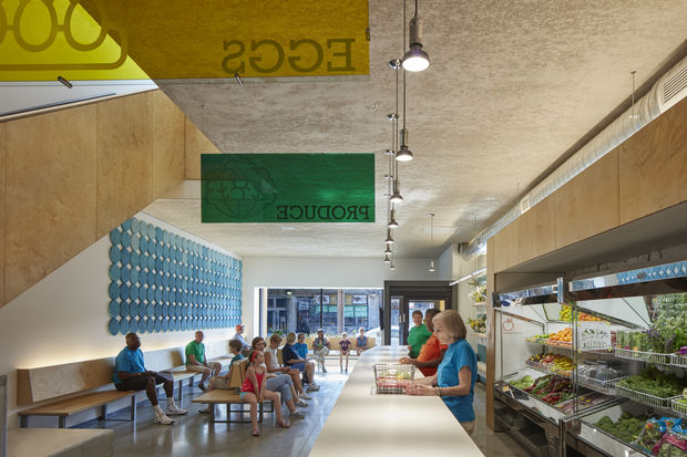 The minds behind the new Lakeview Pantry building received first place for architectural excellence in community design during the 23rd Chicago Neighborhood Development Awards.