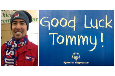 Tommy Shimoda of Mount Greenwood will represent Chicago in the Special Olympics World Winter Games. Shimoda is a speed skater who has participated in the Mount Greenwood Special Recreation Association since he was eight years old.