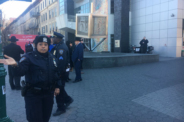 The NYPD was investigating the Thursday morning threat, police said.