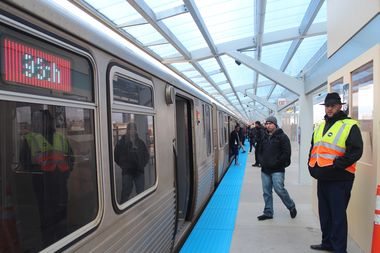 The $203 million renovation of the Wilson Avenue Station is on track for completion by year's end, the CTA president said.