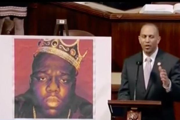 Congressman Raps Biggie Lyrics on House Floor (VIDEO)