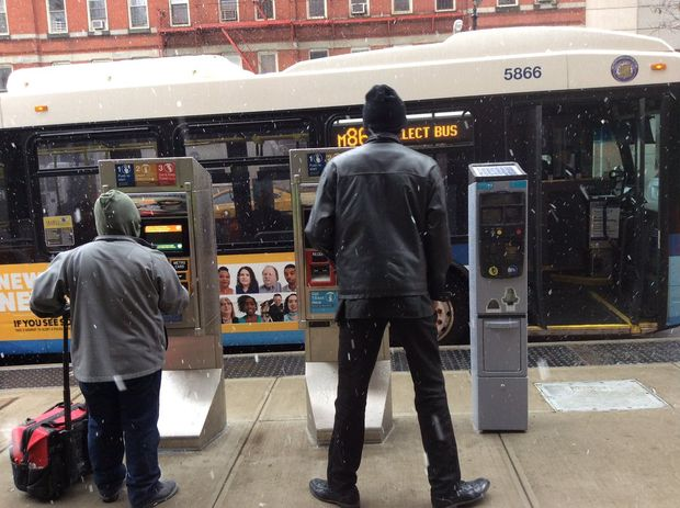 The M86 bus stop at East 86th Street has been restored, the MTA announced Friday.