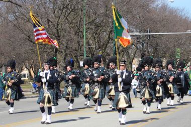 The South Side Irish St. Patrick's Day Parade resulted in zero arrests Sunday, according to the Chicago Police Department.
