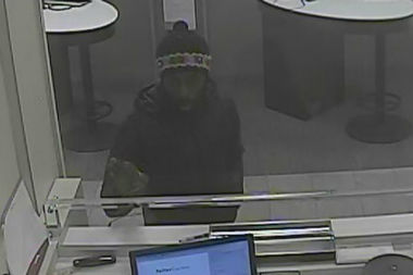 Police say this man robbed a Chase Bank in Midtown on Saturday.