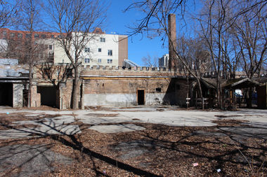 Police are investigating a midday fire Saturday at the abandoned site of the Noble Horse Theater as an arson.