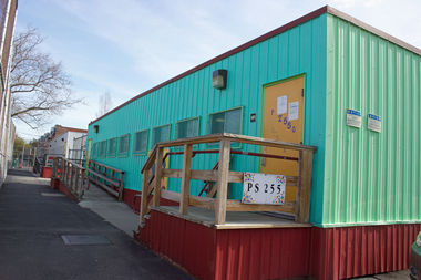 The city plans to remove 11 trailer classrooms from the schoolyard at P.S. 151 in Woodside, which house students from special needs school P.S. 255.