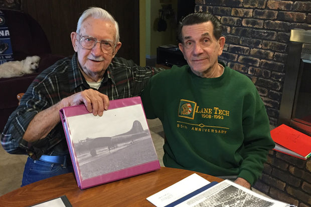 For decades, Ted Szalinski (left), who is now 89, searched for answers about the plane, which had been named