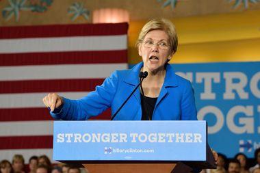 Elizabeth Warren will speak at The Music Box Theatre in April.