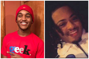 Vogels Anderson, 19, and Ryan Hamilton, 20, were found shot to death in a car Monday in Abuurn Gresham.