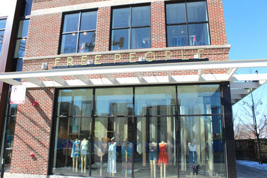 Women's clothing retailerFree Peoplewill open their new Fulton Market shop Friday.