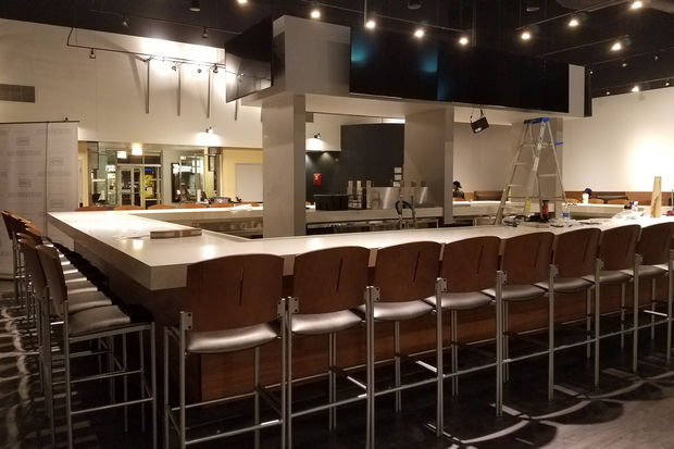 Studio Movie Grill in Chatham completed its remodeling project.