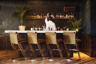 The Hive, an intimate cocktail bar above Honey's at 1111 W. Lake St., opened last week in the West Loop.