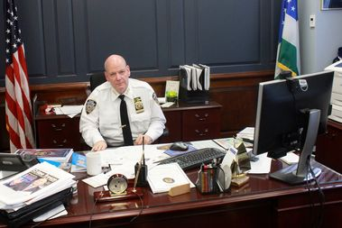 NYPD Chief of Patrol Terence Monahan flew out to Los Angeles to study the LAPD's neighborhood strategy.