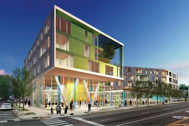 Perkins and Will were selected to lead the design on the new West Ridge library.