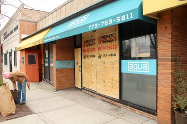 Aqua Salon, 5346 W. Devon Ave., and the next-door The Elephant Thai Cuisine were reported damaged in the fire.