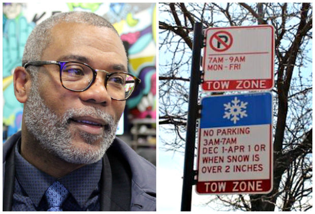 Ald. Walter Burnett Jr. said a new parking ban that would prohibit parking from 7 to 9 a.m. weekdays on some West Loop streets could soon be approved by the City Council.