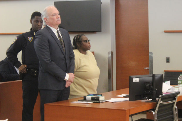 Athena Skeeter was sentenced to four years in prison on Tuesday for the death of toddler Cardell Williamson.