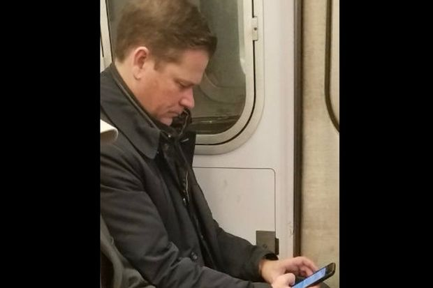 Police are looking for this man in connection with a groping on a Downtown 4 train.