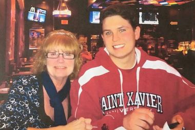Brendan Burke was a student at St. Xavier University in Mount Greenwood when he was involved in a fatal car crash March 3, 2016. His mother, Teresa Burke, is among those organizing a fundraiser in his honor Saturday.