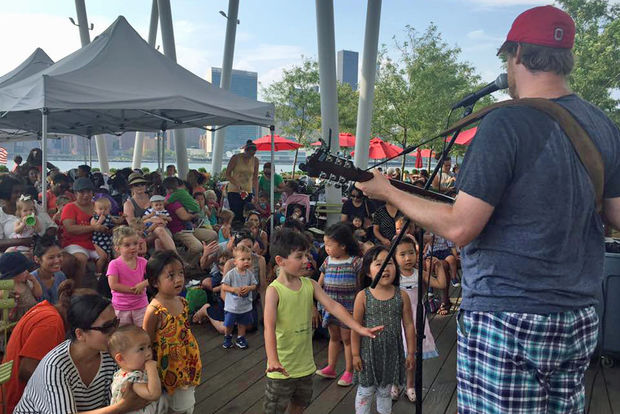 Andy & Suzanna Kids Music will perform a fundraiser concert in Long Island City on Saturday.