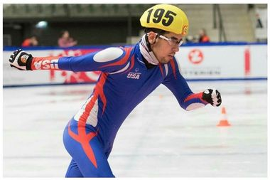 Speed skater Tommy Shimoda of Mount Greenwood won a gold medal Thursday in the 500-meter race at the Special Olympics World Winter Games in Austria. He also won a bronze medal Tuesday in the 777-medal race.