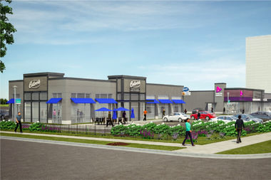 The Bronzeville Culver's is the first to get permits and will likely be the first location in the city in the Lake Meadows Shopping Center.