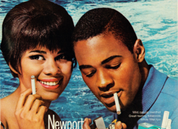 African-Americans are exposed to more tobacco advertising than whites, as tobacco companies have historically placed more advertising in African-American publications, the CDC says.
