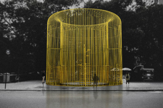 Chinese artist Ai Weiwei is bringing a series of fences to New York City as part of the Public Art Fund's 40th Anniversary.