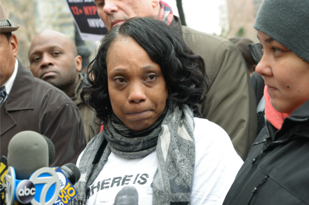 Constance Malcolm, the mother of Ramarley Graham, said Mayor Bill de Blasio cares more about politics than people.