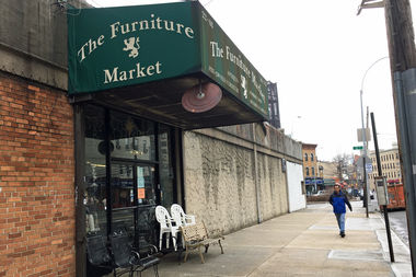 The Furniture Market At Astoria Boulevard And Newtown Avenue.