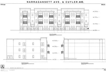 New portage park 2 bedroom apartments will rent for 1700 a month the blueprint for a three story 15 unit brick and stone malvernweather Gallery